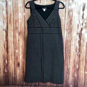 Loft Cotton Polka Dot Dress. Sz 12